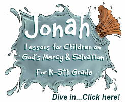 Jonah and the Fish, whale