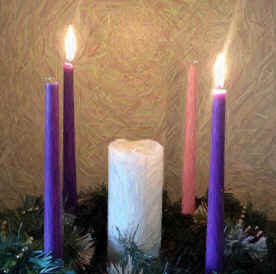 Advent Candles Week 2