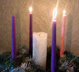 Advent Candles Week 3