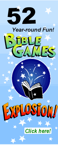 Bible Games for Children's Ministry, Sunday school games