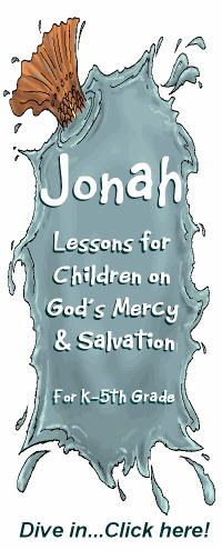 Jonah Bible Lessons for Kids
