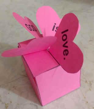 Make and Fold a Heart box