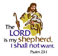 The Lord is my Shepherd, Psalm 23