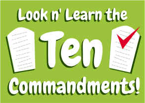 Teach the Ten Commandments to Children