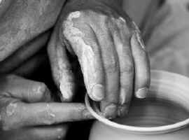 God is the potter, we are the clay.