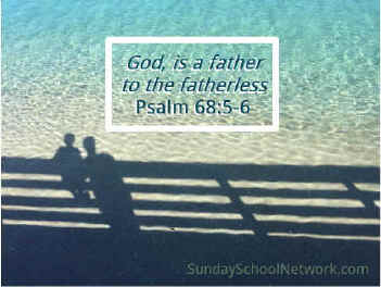 God is a Father to the fatherless