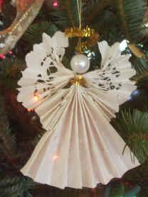 paper craft angel
