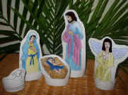 Paper Nativity for Kids