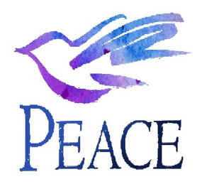 Blessed are the peacemakers, dove of peace