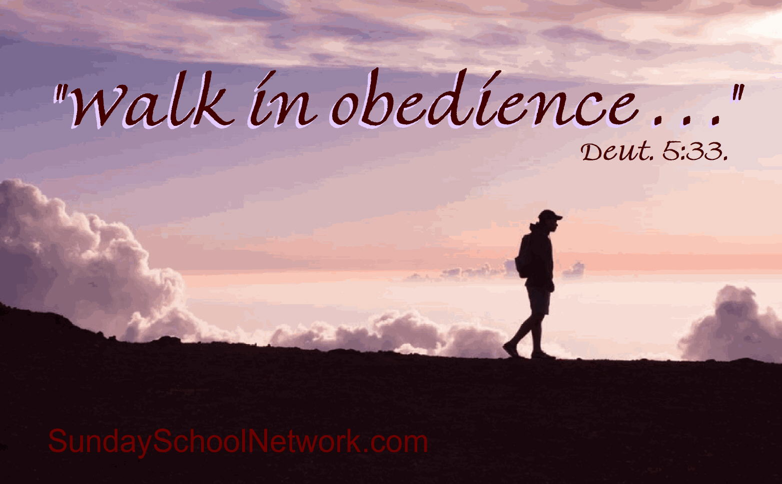walk in obedience